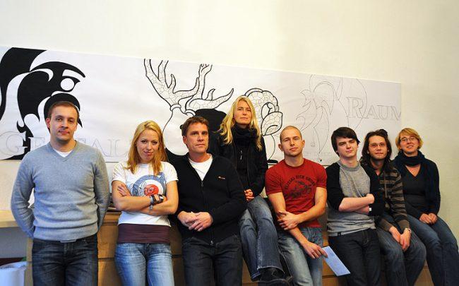 Das JAKOTA-Team im Oktober 2009.