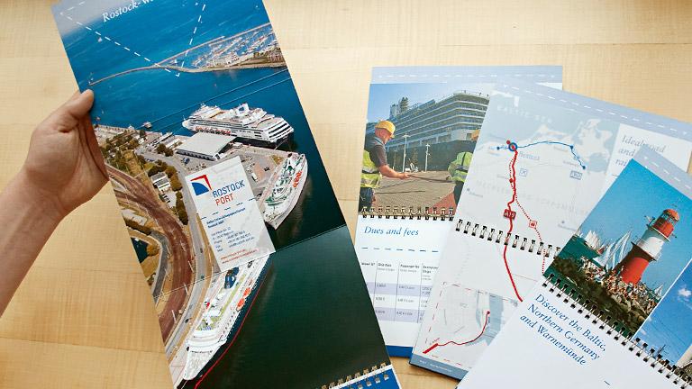 Rostock Port USA Booklet
