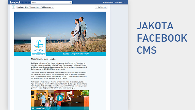 jakota facebook cms binz therme