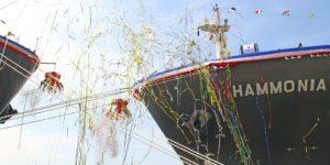 HAMMONIA Reederei sticht mit neuer Website in See