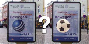 Uni-Werbung: Hilfloser gehts nimmer...