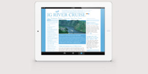 IG RiverCruise mit neuem Angebot