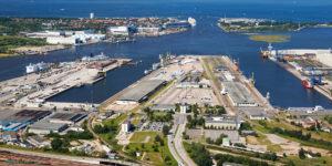 """Mit """"Rostock Port Now"""" den Rostocker Hafen im Blick"""